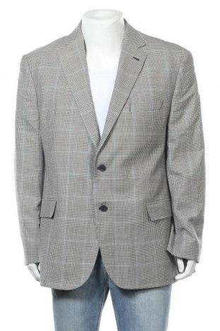 Мъжко сако Marks & Spencer, Размер XL, Цвят Сив, 92% вълна, 8% коприна, Цена 25,50лв.