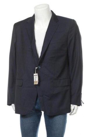 Ανδρικό σακάκι Pedro Del Hierro, Μέγεθος XXL, Χρώμα Μπλέ, Μαλλί, Τιμή 28,75€