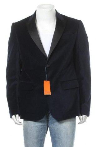 Мъжко сако Trussardi Jeans, Размер XL, Цвят Син, Памук, Цена 155,40лв.