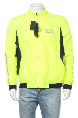 Мъжко спортно яке Emporio Armani, Размер XL, Цвят Зелен, Полиестер, Цена 362,45лв.