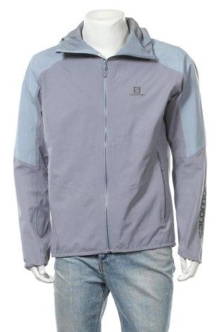 Мъжко спортно яке Salomon, Размер L, Цвят Сив, Полиестер, Цена 131,45лв.