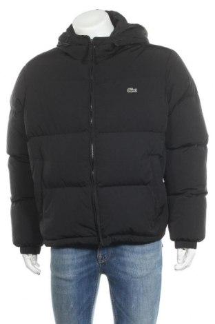 Мъжко яке Lacoste, Размер XL, Цвят Черен, Полиамид, пух и пера, Цена 449,00лв.