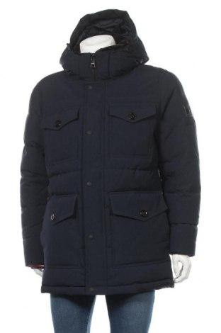 Ανδρικό μπουφάν Tommy Hilfiger, Μέγεθος L, Χρώμα Μπλέ, Πολυεστέρας, Τιμή 236,60€