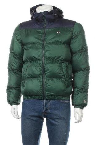 Ανδρικό μπουφάν Tommy Hilfiger, Μέγεθος S, Χρώμα Πράσινο, Πολυεστέρας, Τιμή 169,59€