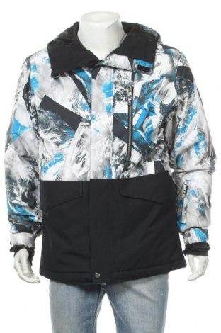 Ανδρικό μπουφάν για χειμερινά σπορ Quiksilver, Μέγεθος M, Χρώμα Πολύχρωμο, Πολυεστέρας, Τιμή 44,06€