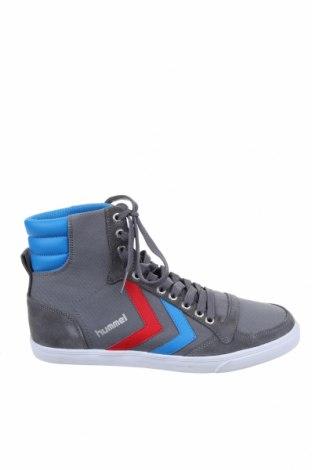 Παπούτσια Hummel, Μέγεθος 37, Χρώμα Γκρί, Κλωστοϋφαντουργικά προϊόντα, φυσικό σουέτ, Τιμή 14,84€