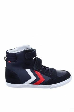 Παπούτσια Hummel, Μέγεθος 40, Χρώμα Μπλέ, Φυσικό σουέτ, δερματίνη, Τιμή 30,90€