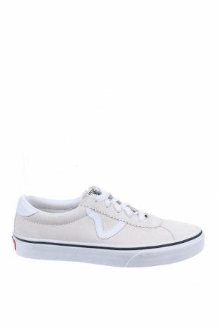 Обувки Vans, Размер 36, Цвят Бял, Естествен велур, Цена 67,20лв.