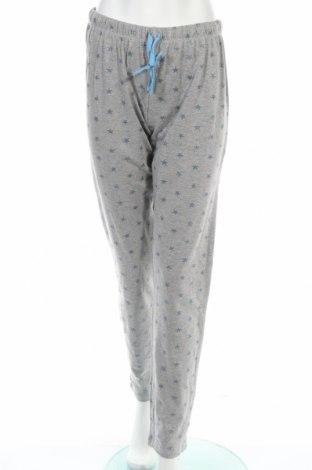 Пижама Pompea, Размер M, Цвят Сив, 88% памук, 12% полиестер, Цена 28,42лв.