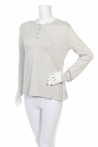 Пижама Pompea, Размер M, Цвят Сив, 80% вискоза, 15% полиестер, 5% еластан, Цена 18,56лв.