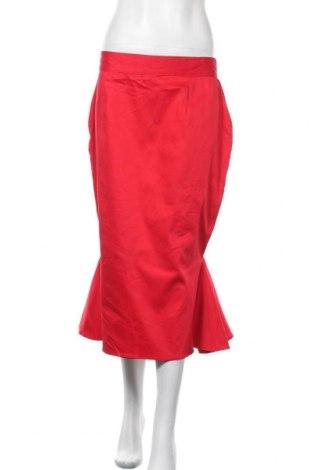 Пола, Размер XL, Цвят Червен, 97% памук, 3% еластан, Цена 35,91лв.