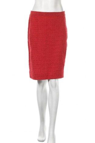 Φούστα Bitte Kai Rand, Μέγεθος L, Χρώμα Κόκκινο, 30% μεταλλικά νήματα, 29% πολυακρυλικό, 22% βαμβάκι, 19% βισκόζη, Τιμή 14,23€