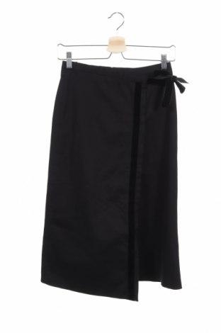 Φούστα Cacharel, Μέγεθος XS, Χρώμα Μαύρο, 98% βαμβάκι, 2% ελαστάνη, Τιμή 25,36€