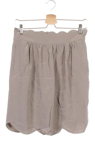 Пола Chloé, Размер XS, Цвят Сив, 100% коприна, Цена 84,56лв.
