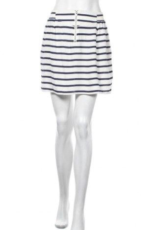 Пола H&M Divided, Размер M, Цвят Бял, Вискоза, Цена 6,30лв.