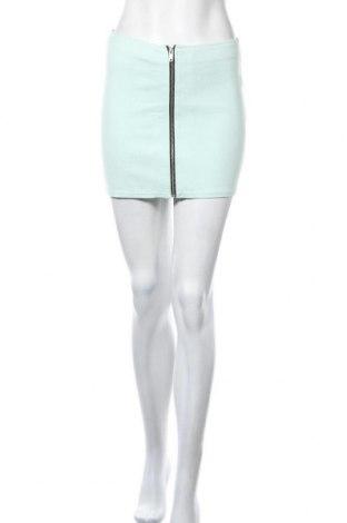 Пола H&M Divided, Размер M, Цвят Зелен, 73% памук, 23% полиамид, 4% еластан, Цена 4,20лв.