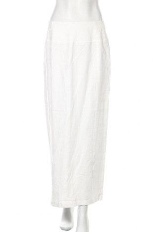 Пола Mexx, Размер M, Цвят Бял, 100% лен, Цена 25,50лв.