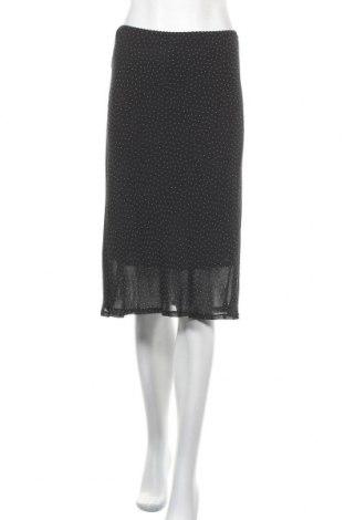 Пола Ms Mode, Размер L, Цвят Черен, Вискоза, Цена 8,82лв.