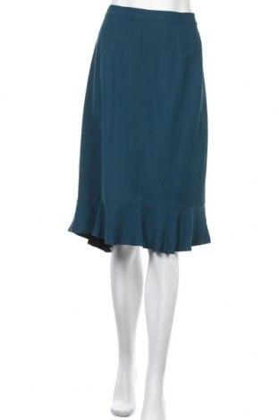 Пола Nice Things Paloma S., Размер L, Цвят Син, 69% вискоза, 18% памук, 13% купро, Цена 20,86лв.
