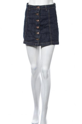 Φούστα Perfect Jeans By Gina Tricot, Μέγεθος S, Χρώμα Μπλέ, 98% βαμβάκι, 2% ελαστάνη, Τιμή 4,77€