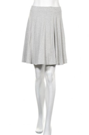 Пола Uniqlo, Размер M, Цвят Сив, 49% памук, 47% модал, 4% еластан, Цена 13,39лв.