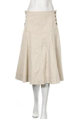 Φούστα Weekend Max Mara, Μέγεθος M, Χρώμα  Μπέζ, 97% βαμβάκι, 3% ελαστάνη, Τιμή 30,40€