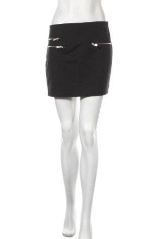 Пола Zara, Размер M, Цвят Черен, 52% памук, 45% полиестер, 3% еластан, Цена 6,54лв.