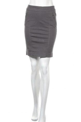 Пола Zara, Размер S, Цвят Сив, 98% памук, 2% еластан, Цена 6,56лв.