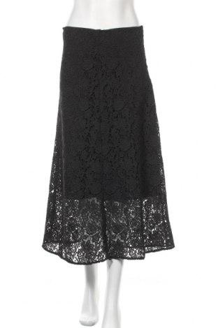 Пола Zara, Размер S, Цвят Черен, Полиестер, Цена 36,75лв.