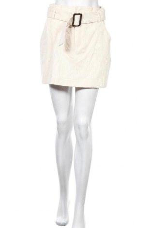 Пола Zara Trafaluc, Размер M, Цвят Бял, Памук, Цена 17,64лв.