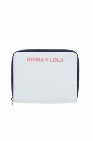 Портмоне Bimba Y Lola, Цвят Бял, Естествена кожа, Цена 80,92лв.