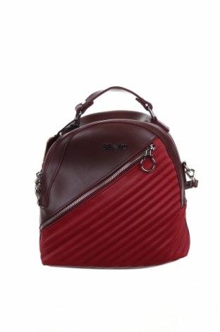 Σακίδιο για laptop Polo Club, Χρώμα Κόκκινο, Δερματίνη, Τιμή 26,61€