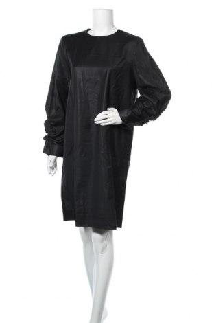 Рокля COS, Размер XL, Цвят Черен, Вълна, Цена 72,98лв.