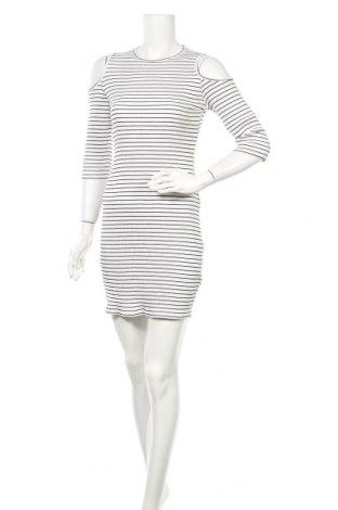 Φόρεμα H&M Divided, Μέγεθος M, Χρώμα Λευκό, 97% βαμβάκι, 3% ελαστάνη, Τιμή 5,79€