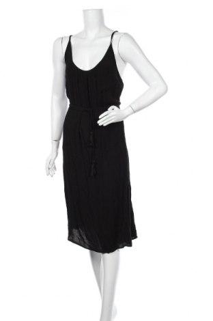 Рокля H&M L.O.G.G., Размер XL, Цвят Черен, Вискоза, Цена 22,68лв.