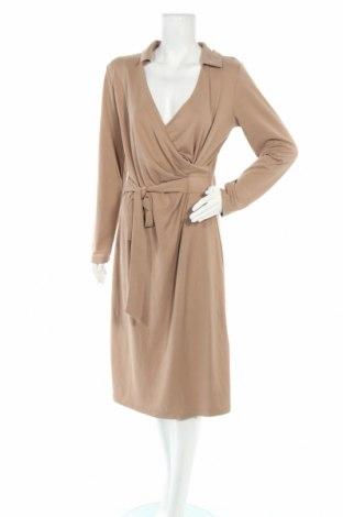 Рокля In Wear, Размер L, Цвят Кафяв, 70% модал, 30% полиестер, Цена 59,95лв.