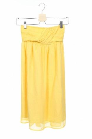 Φόρεμα Jacob, Μέγεθος XS, Χρώμα Κίτρινο, Πολυεστέρας, Τιμή 5,07€