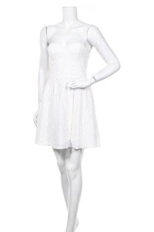 Рокля Juicy Couture, Размер S, Цвят Бял, Памук, Цена 49,50лв.