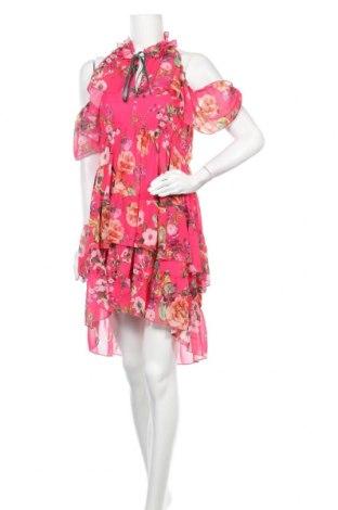 Рокля Lulu, Размер M, Цвят Розов, Полиестер, Цена 62,37лв.