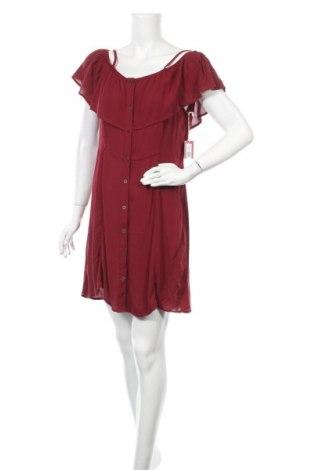 Рокля Mossimo, Размер L, Цвят Червен, 100% вискоза, Цена 44,10лв.