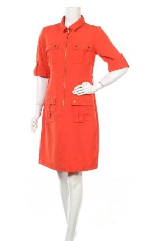 Φόρεμα New York & Company, Μέγεθος M, Χρώμα Πορτοκαλί, 78% πολυεστέρας, 18% βισκόζη, 4% ελαστάνη, Τιμή 16,89€
