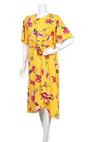 Φόρεμα Pretty Little Thing, Μέγεθος L, Χρώμα Κίτρινο, Πολυεστέρας, Τιμή 14,13€