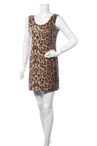 Φόρεμα Qed London, Μέγεθος M, Χρώμα  Μπέζ, 94% πολυεστέρας, 6% ελαστάνη, Τιμή 4,77€