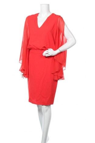 Рокля Sandro Ferrone, Размер S, Цвят Червен, 100% полиестер, Цена 72,67лв.