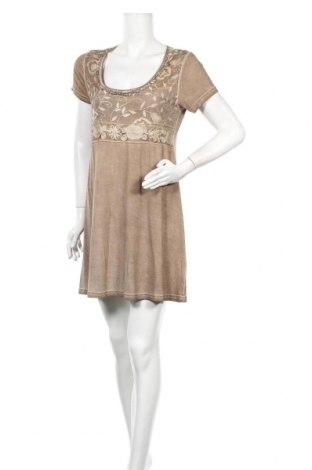 Φόρεμα Yorn, Μέγεθος L, Χρώμα Καφέ, 92% βισκόζη, 8% ελαστάνη, Τιμή 8,22€