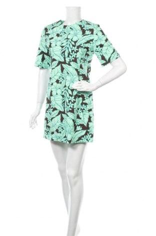 Рокля Zara, Размер S, Цвят Зелен, Памук, Цена 30,75лв.