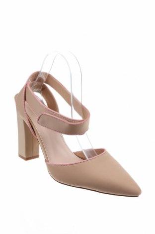 Дамски обувки Bebo, Размер 41, Цвят Бежов, Текстил, Цена 20,46лв.