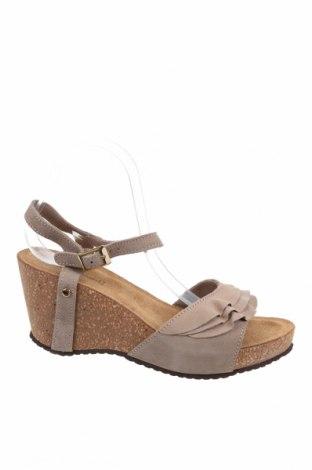 Сандали Copenhagen Shoes, Размер 41, Цвят Кафяв, Естествен велур, Цена 76,32лв.