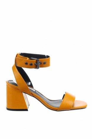 Сандали Even&Odd, Размер 37, Цвят Оранжев, Еко кожа, Цена 44,25лв.