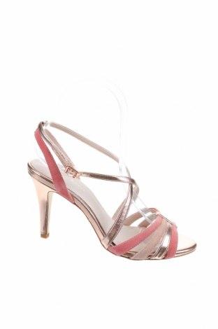 Сандали Mint & Berry, Размер 36, Цвят Розов, Естествен велур, еко кожа, Цена 53,40лв.